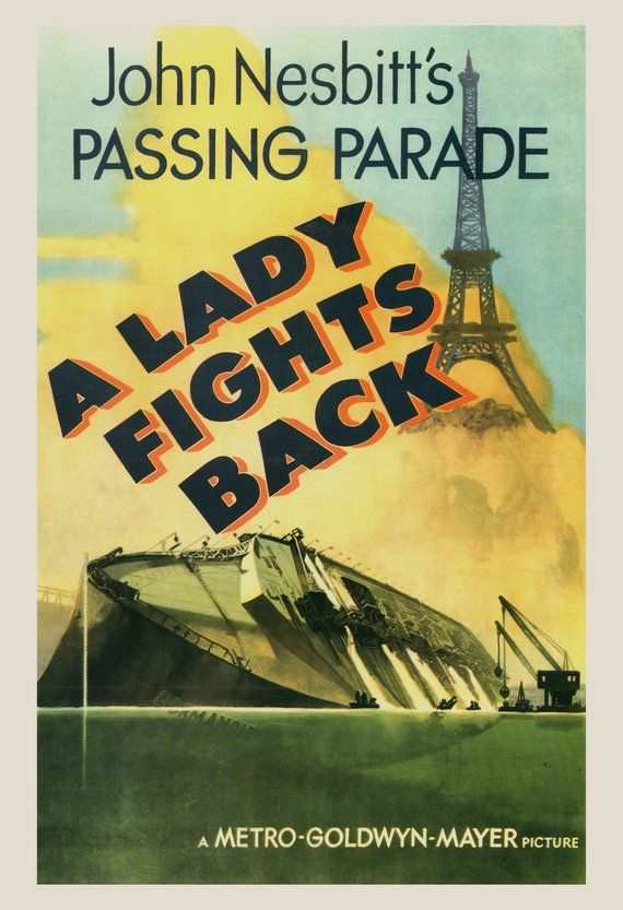 Classic Movie Poster A Lady Fights Back Movie Poster Etsy In 2021 Classic Movie Posters Movie Posters Movie Poster Art