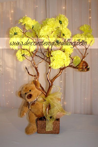 Decorate my wedding specializing in crystal wedding for Baby shower tree decoration