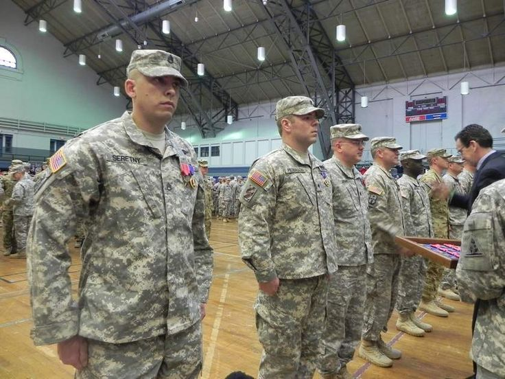 National Guard Units with local ties honored - Norwich Bulletin
