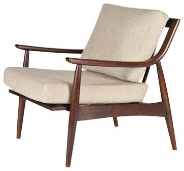 Adam Chair Midcentury Armchairs Gingko Home Furnishings $775.00 Comes In  Azure Blue, Too.