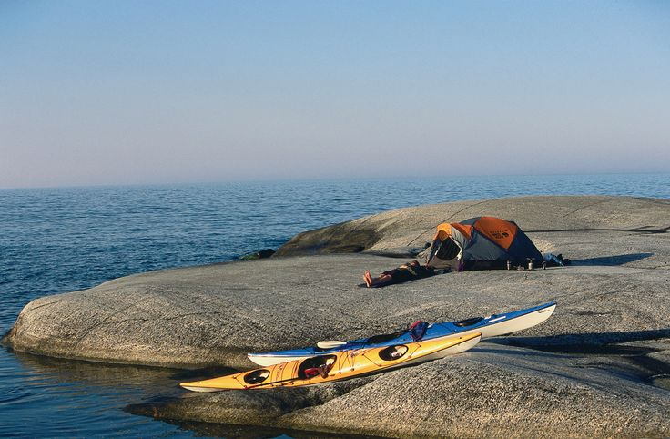 One of many thousand island in the Stockholm Archipelago. Photo by:Henrik Trygg