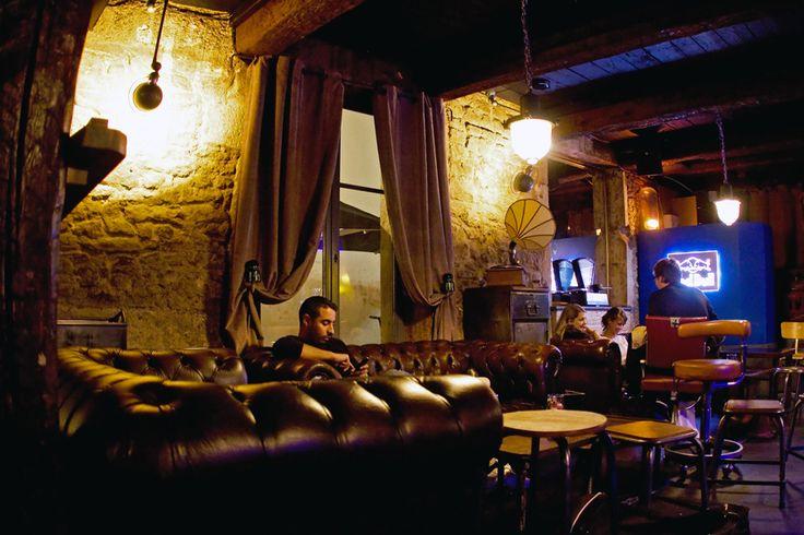 Aménagement bar Le Mouton Electrique à Nancy