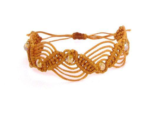 Lovely gifts for her bracelet hand craft macramè di morenamacrame