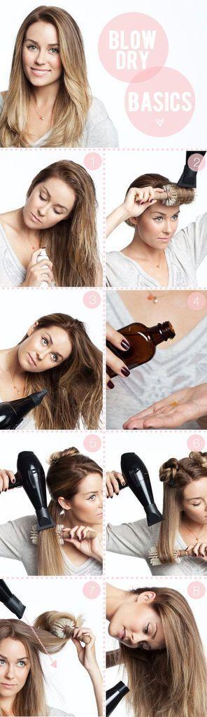 So putzen Sie Ihre Haare richtig. Von Lauren Conrad. Elfsäcke   – hair styling