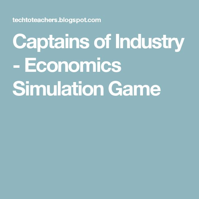 Captains of Industry - Economics Simulation Game