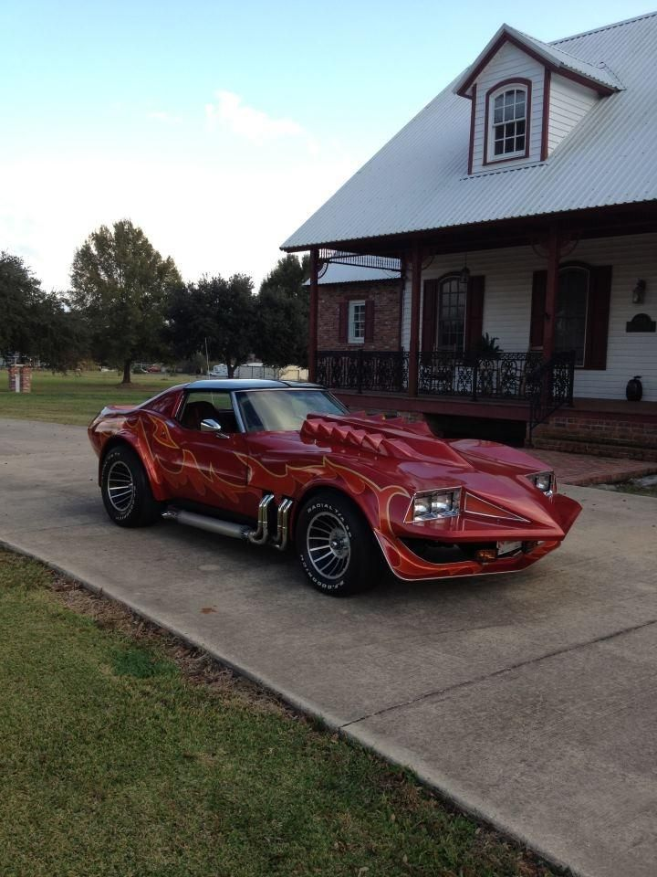 Corvette Summer movie car replica...this movie and this car I think was the turning point in my youth that brought my love affair with cars to life...oddly enough I don't even like corvette's