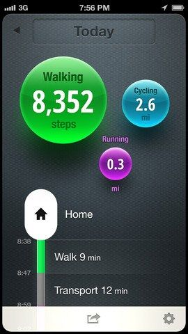 No Fitbit Or Fuelband Necessary. The Moves App Tracks Your Steps From The iPhone