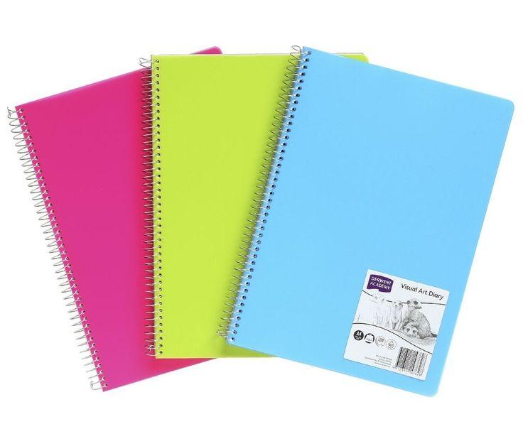 Derwent Coloured Visual Diary A4
