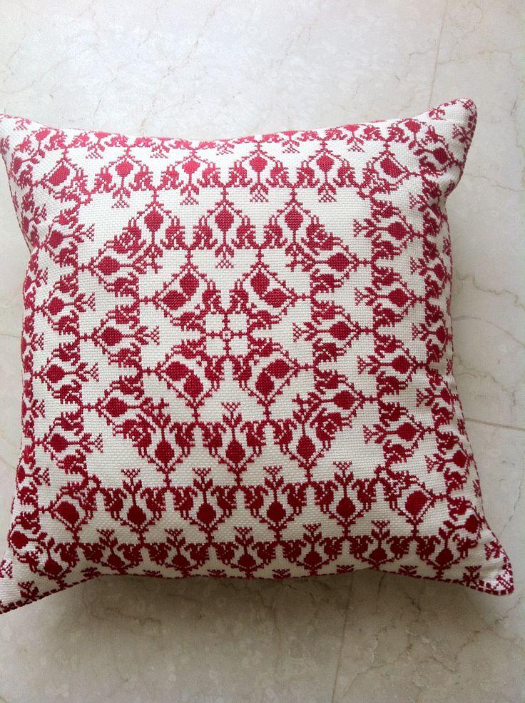 Cross stitch by Amal Zarour..