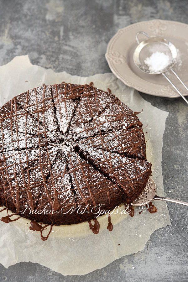 Schoko Nuss Kuchen Ohne Mehl Rezept In 2019 Rezepte Kuchen