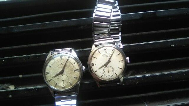 Twin FL Zenith Cal 135 Wrist Watch