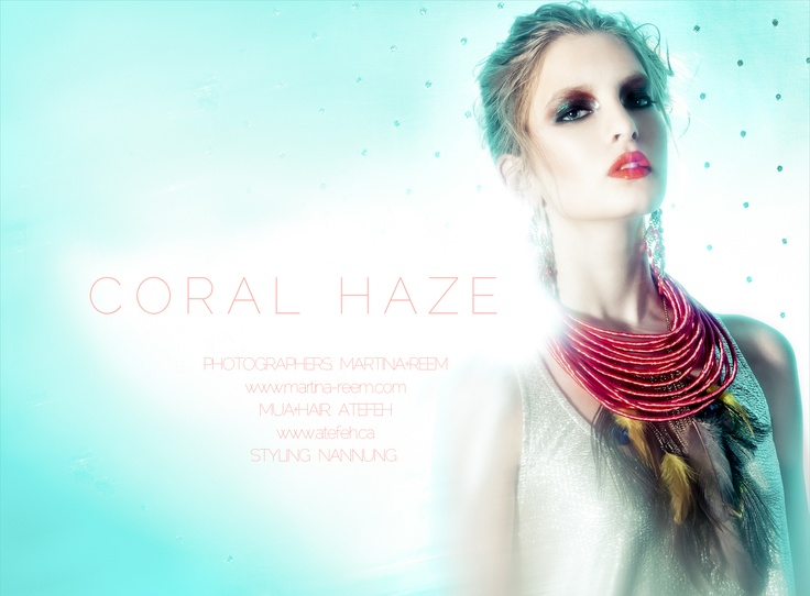 Coral Haze by  Martina+Reem