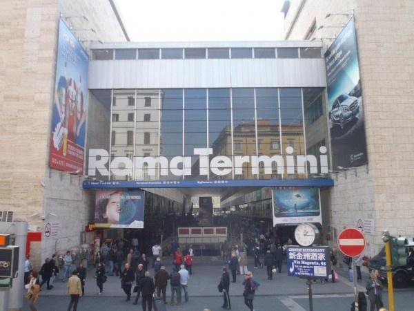 """A familiar place.   """"Roma Termini"""" (Rome's Main Train Station)"""