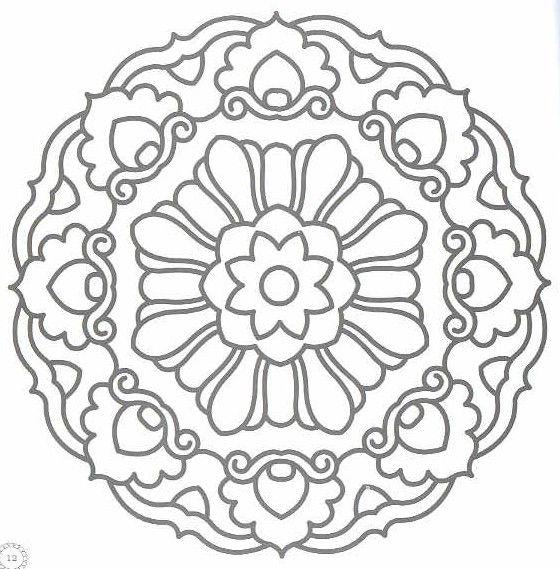 Mandalas para Colorir e Imprimir - Brinquedos de Papel