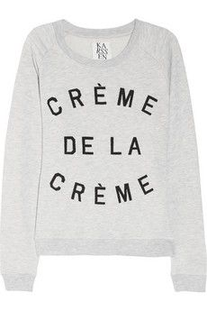 +: Share, Style, La Creme, Cream, Of The, Terry Sweatshirts, Zoe Karssen, Creams, Cream