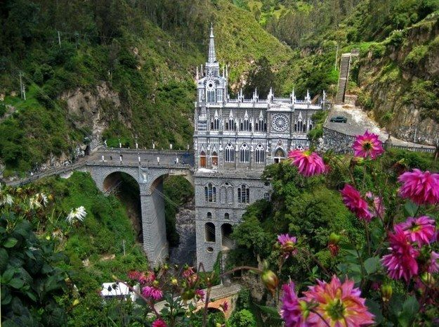 Las Lajas temple | A Trip Through The Land Of Magical Realism