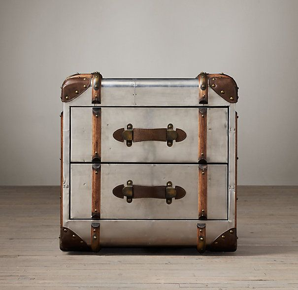 Restoration Hardware Richards Trunk Coffee Table: 89 Best END TABLES Images On Pinterest