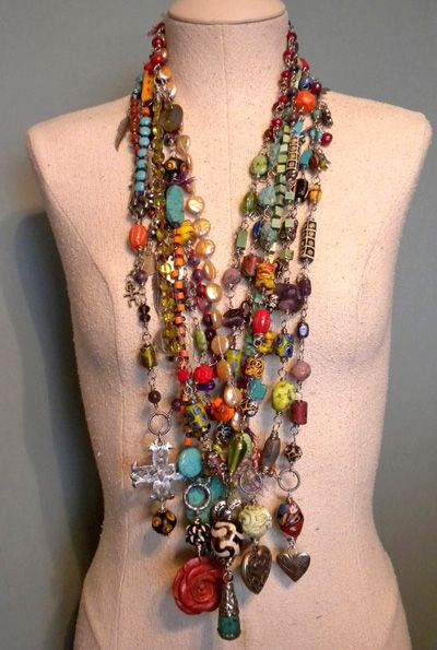 spirited free boho beautiful fashion | Boho Gypsy Cowgirl Necklace from Tamara Ruiz