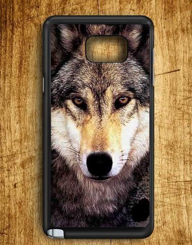 Wolf Face Samsung Galaxy Note 5 Case