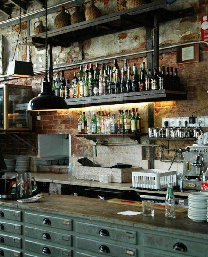 Vintage Loft Kitchen: Deco Cuisine, Love Cuisine And Kitchen Cabinets Matt
