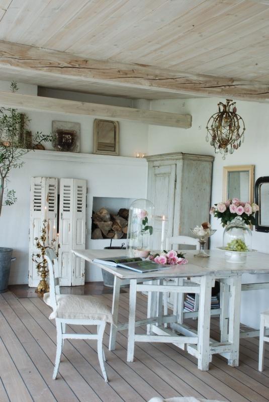 Reciclar muebles es una gran opción para lograr el estilo Shabby Chic.