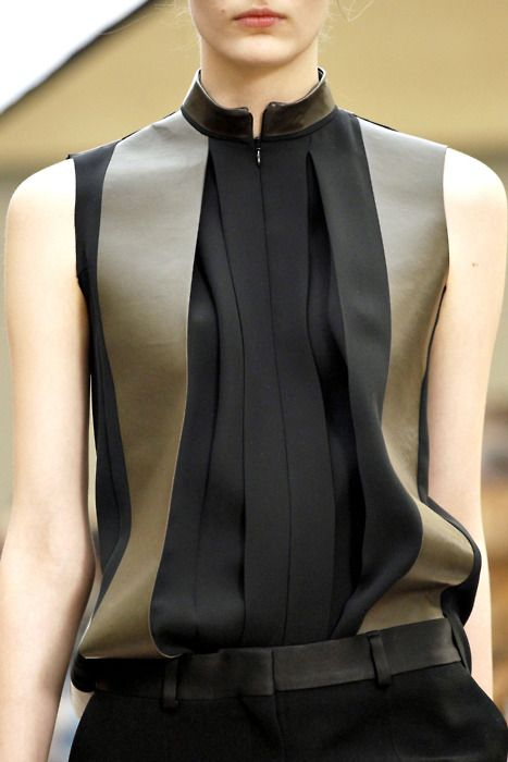 How gorgeous is this! #pleated