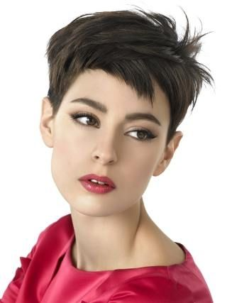 Pixie cut I want if only my hair dresser would agree with me