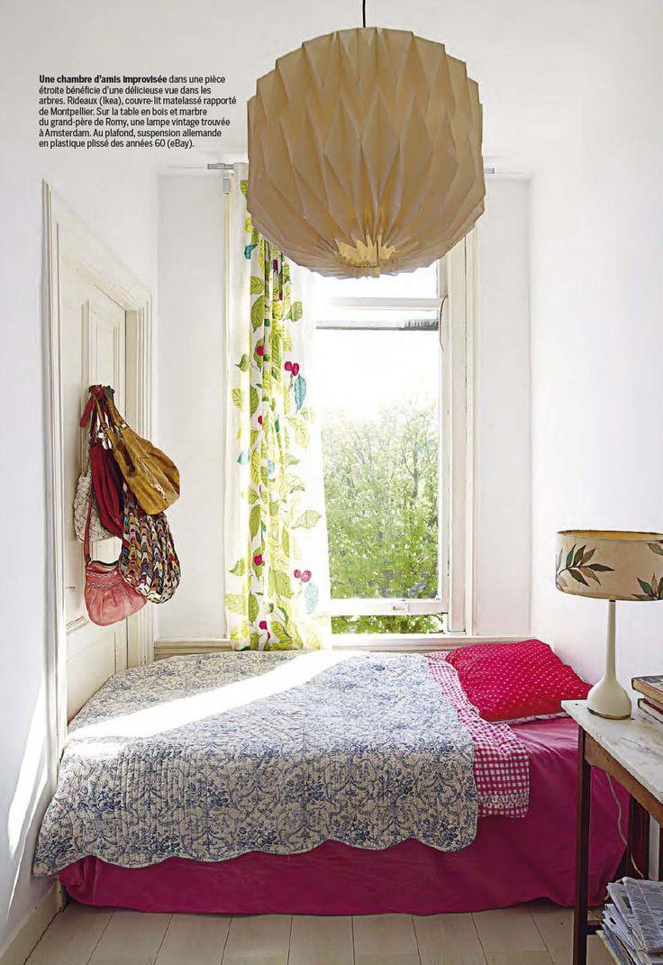 les 25 meilleures id es de la cat gorie chambre troite sur pinterest longue chambre troite. Black Bedroom Furniture Sets. Home Design Ideas