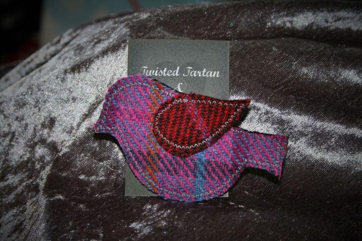 Twisted Tartan & Tweed - Little Red