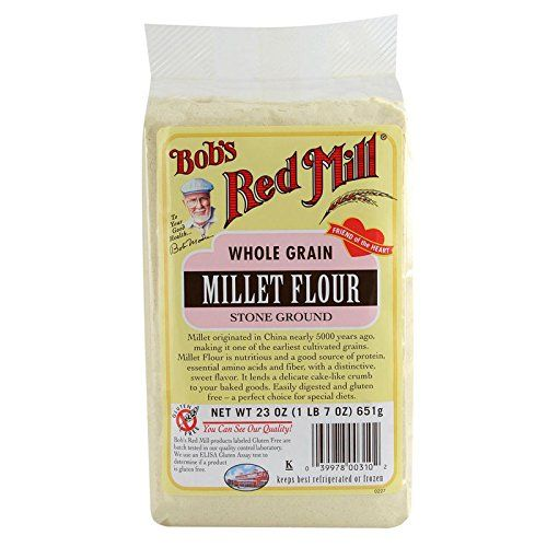 Bobs Red Mill Whole Grain Millet Flour Stone Ground 23 oz 652 gPACK 1 * Click image to review more details.