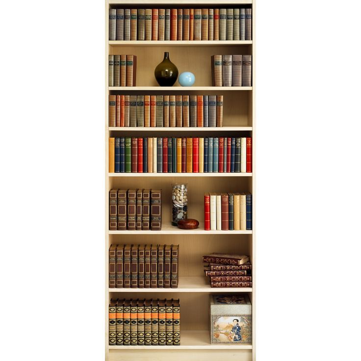 17 best ideas about allen roth on pinterest vanity light for Bookshelf wall mural
