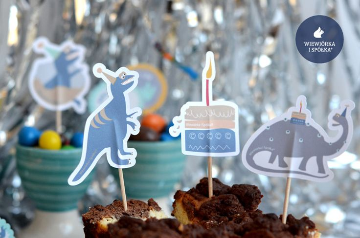 Dino Party. Party Decorations by Wiewiorka i Spolka