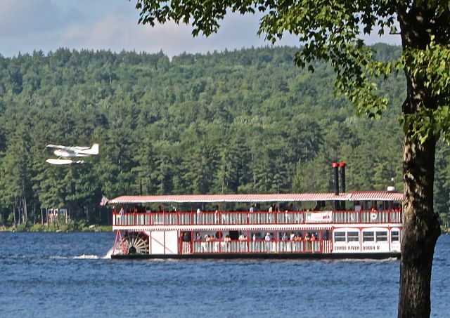 Songo River Queen II On Long Lake, Naples Maine