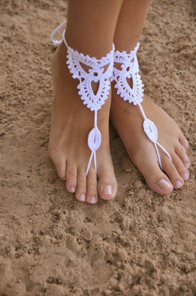 Территория бохо:вязаные украшения для ног латвийской мастерицы barmine olga barmine | Colors.life