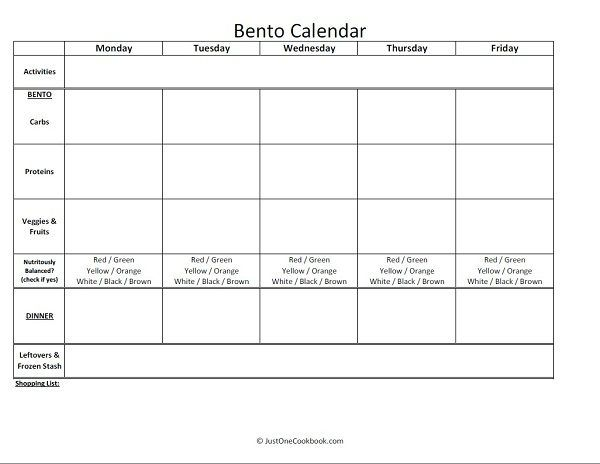 How To Make Bento お弁当の作り方 | Easy Japanese Recipes at JustOneCookbook.com
