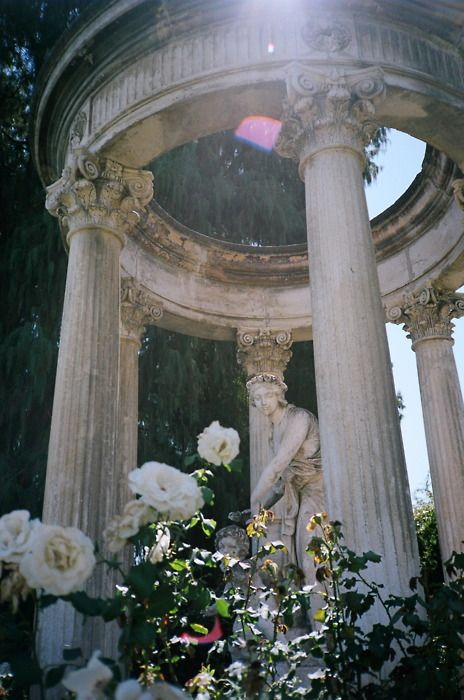 Huntington Mansion & Gardens Pasadena, California..went to see the fab-u-lous collection of Sevres' but fell in love with the incredible gardens & statues from Europe
