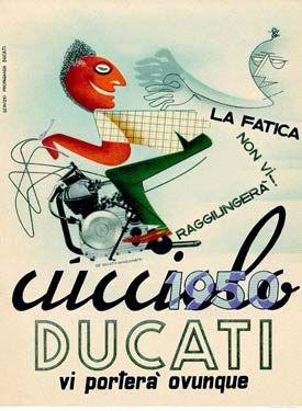 Vintage Ducati Art