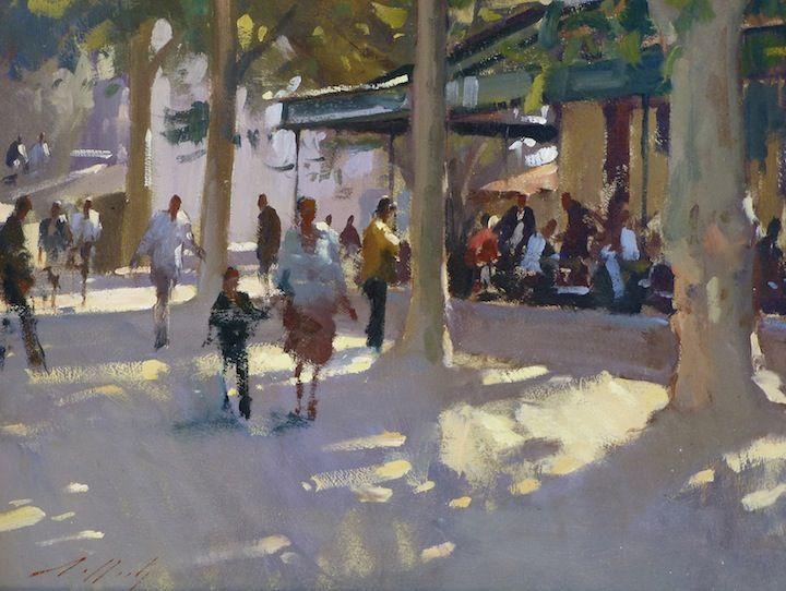 Paul Rafferty > Dappled Light, La Place St Paul
