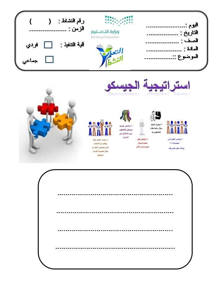 بالصور حمل 20 استراتيجية من استراتيجيات التعلم النشط جاهزة للطباعة ملف باور بوينت Active Learning Strategies Learning Strategies Learning Arabic