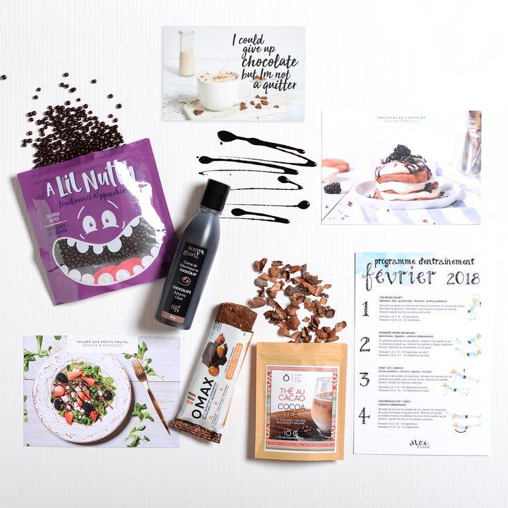 Produits et recettes santé à base de chocolat : thé au chocolat, quinoa soufflé enrobé de chocolat noir, crème de balsamique au chocolat et barre choco-noisette