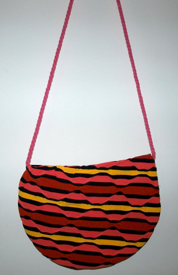 Hip colorful bag / Small bag / Handmade shoulder bag by Ulook, €20.00