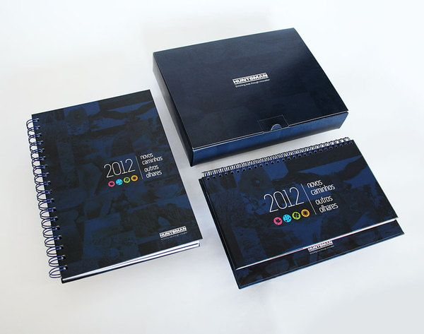 HUNTSMAN – corporate kit by Dona Baronesa, via Behance