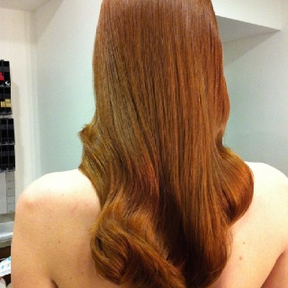 How To Color Natural Hair Red