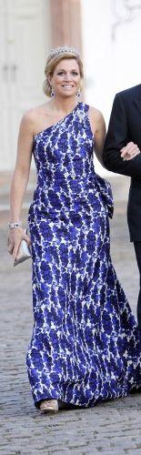 Reina Máxima - Moda:Carolina Herrera