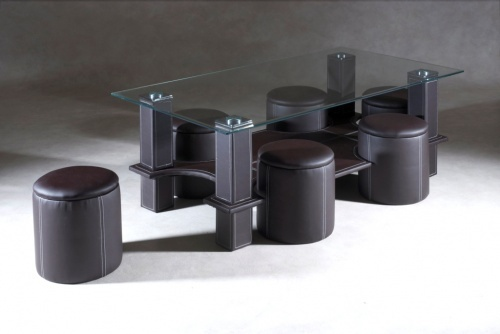 Best 25 table basse avec pouf ideas on pinterest table basse pouf pouf po - Table basse avec 6 pouf ...