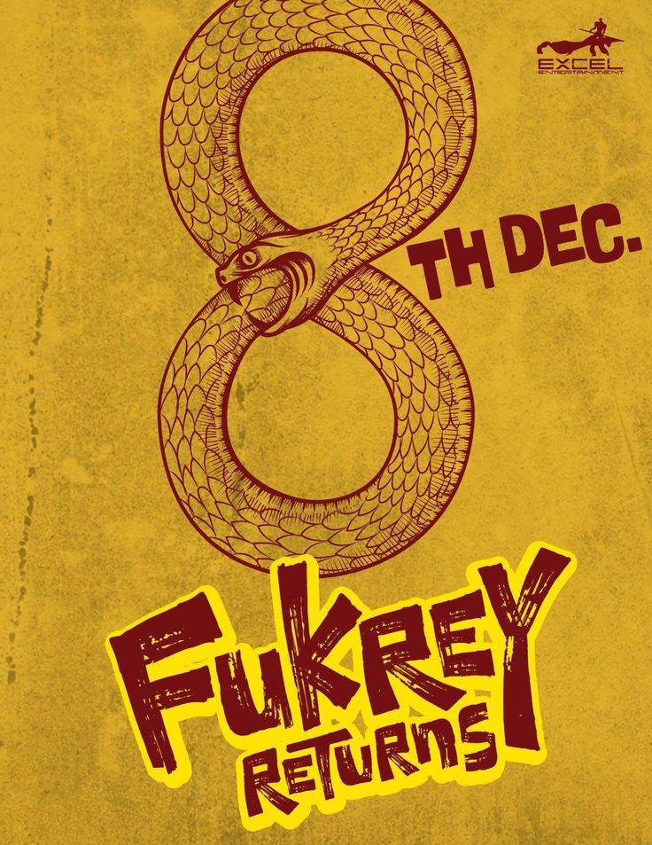 Fukrey Returns First Official Poster | Pulkit Samrat, Varun Sharma, Richa Chadha | Directed by Mrighdeep Singh Lamba | Movie Releasing on 8th December 2017. #FukreReturns #PulkitSamrat #VarunSharma #RichaChadha #MrighdeepSinghLamba #ExcelEntertainment