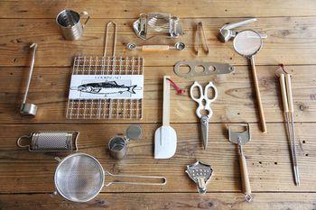 シンプルだから使いやすい。 無駄な装飾を取り去った、道具としてのツールは 見た目にこんなにもすっきりするものなんですね。