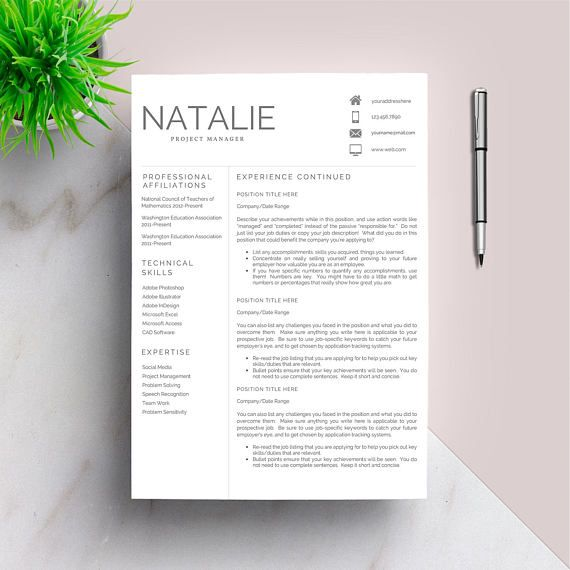 The 25+ best Cv template student ideas on Pinterest Cover letter - it cv template