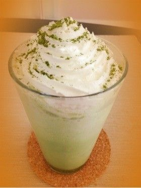 Matcha Frappuccino ♡ ♡ reproduction of Starbucks
