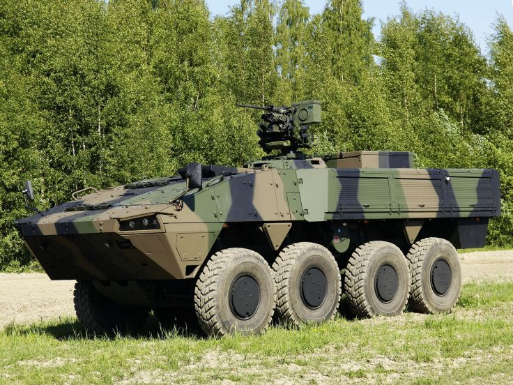 2010 Patria AMV 8x8 Kongsberg Protector military weapon weapons apc q wallpaper background